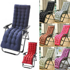 Replacement Cushion Pads For Garden Sun Lounger Recliner Chair Cotton Seat Pad