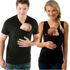 Multifunction Shirts Plus Size Baby Carrier Clothing Kangaroo T-Shirt For Father