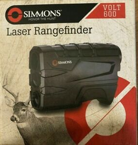 Simmons Volt 600 Laser Rangefinder (#801600) LCD Display, 4x Magnification, Case
