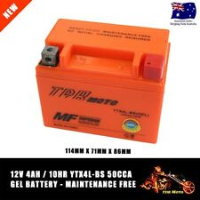 YTX4L-BS 12V 4AH 50CCA TDRMOTO GEL Battery for 2000-2002 KTM 400 EXC TDR