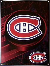 "Montreal Canadiens 46"" x 60"" NHL Super Plush Throw Blanket"