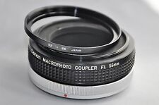 Canon macrophotocoupler FL 55mm and step ring 52 - 55 mm