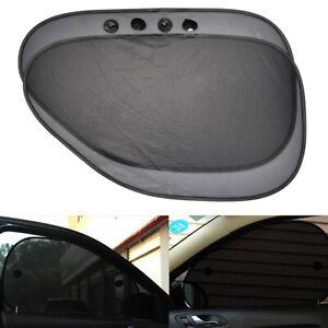 Car SUV Side Rear Window Sun Shade Cover Shield Sunshade UV Protection Accessory