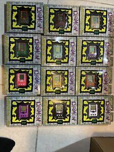 2x Digimon Bandai 20th Anniversary Virtual Pet Digivice Tamagotchi choose colors