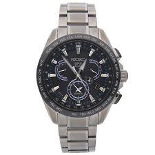 Seiko Astron GPS Solar Perpetual Calendar Titanium Ceramic Mens Watch SSE101