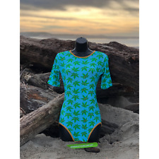 LIMITED EDITION Weed Emoji Bodysuit - Yoga, Active Wear, Pajamas, Little Space