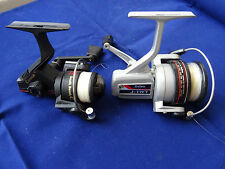 PAIR OF VINTAGE RETRO 1970'S/80'S SPINNING REELS DAIWA J-17FT & SOUTH BEND
