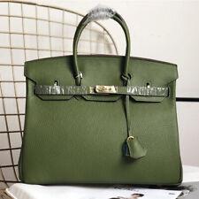 Padlock tote Designer Genuine Leather Inspired Crossbody Bag Women New HOT ##