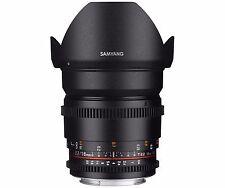 Samyang 16mm T2.2 Cine VDSLR CS II Wide Angle Lens for Micro Four Thirds M4/3