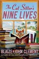 The Cat Sitter's Nine Lives: A Mystery (Dixie Hemingway Mysteries)-ExLibrary