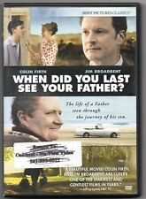 When Did You Last See Your Father (DVD, 2008) Colin Firth Jim Broadbent