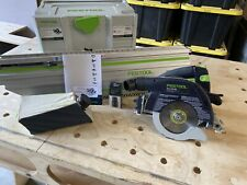 Festool  HKC 55 Cordless Track Saw BASIC with track