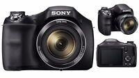 BRAND NEW SEALED SONY CYBERSHOT DSC-H300 BRIDGE CAMERA 20.1 MP HD VIDEO BLACK