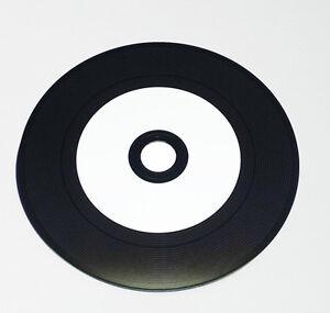 Vinyl CD Rohlinge bedruckbar 10 StK. mit Hülle 700 MB weiß, Day aus Carbon