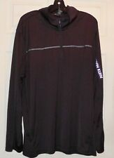 Great black polyester top sweater - by CALVIN KLEIN - XXL