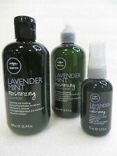PAUL MITCHELL TEA TREE LAVENDER MINT SHAMPOO & CONDITIONER & LEAVE IN SPRAY