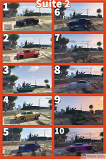 GTA V rnodded Vehicles 10 cars for £15 PS4 Only
