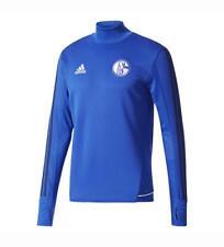 Adidas Schalke 04 Training Top - Gr. XL - Farbe Blau 17/18
