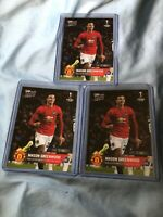 Mason Greenwood Rookie RC Lot (3) - 2020 Topps Now UEFA Champions League #59
