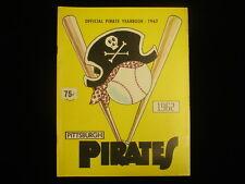 1962 Pittsburgh Pirates Yearbook