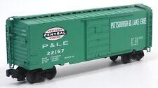 "Used Weaver Models O Gauge 2012 ""P&LE"" Jade Green #22167 Box Car w/Box"