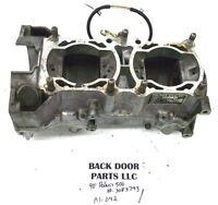 1987-1993 POLARIS INDY 500 440 XCR SNOWMOBILE CRANK CASE CASES & OIL PUMP A1-092