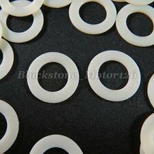 "20 Nylon Washer O Ring Seal Plastic Clip 14mm 9/16"" M14 I.D. / 24mm 15/16"" O.D."