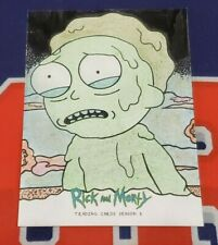 Rick and Morty Season 3 Artist Sketch Card 1/1 - Rusty Gilligan