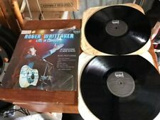 Roger Whittaker Live in Canada Vinyl Record - Signed / Autographed