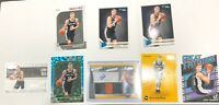 Luka Samanic Rookie Card Lot (8), 2 Jersey Auto /199!Teal Explosion, Cool Base!
