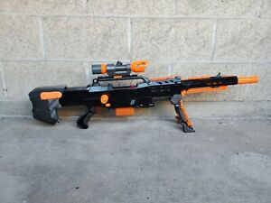 250fps Modified Nerf Longshot, featured on Captain Xavier's channel