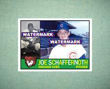 Joe Schaffernoth Chicago Cubs 1960 Style Custom Art Card