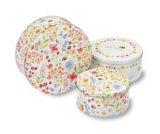Bee Happy Design Kitchen Cupcake Cup Cake Cookie Biscuit Storage Tin Gift Box