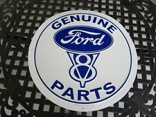 tin metal dealership home garage repair shop man cave decor ford parts