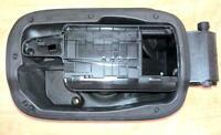 09-14 Mercedes Benz W204 Fuel Flap Door Hinge Assembly Genuine OEM A2047500103