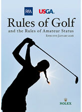 2016 Edition Rules of Golf & The Rules of Amateur Status, P&A USG
