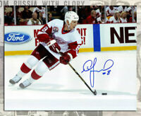 Igor Larionov Detroit Red Wings Autographed 8x10