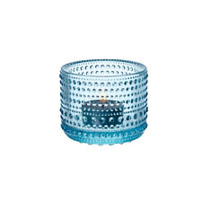 Iittala Kastehelmi Votive Candle Holder Light Blue