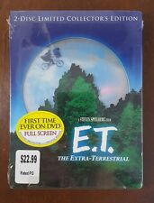 E.T. The Extra-Terrestrial (2001, 2-Disc DVD Limited Collector's Edition) NEW