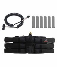 Maddog Sports 6+1 Paintball Harness Pods Standard Remote Coil