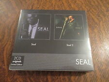 album 2 cd originals limited edition seal soul + soul 2