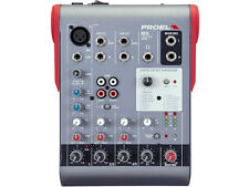 Proel Mi5 Mixer professionale compatto 5 canali con DSP Effetti