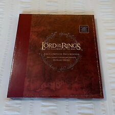 """*SEALED #0037* Lord Of The Rings """"Fellowship Of The Ring"""" 5xLP red vinyl records"""