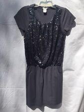 Crewcuts, teen Female Size 14, Grey Sparkle Cotton/Modal/Spandex/Nylon