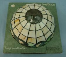 """HOME TRENDS TIFFANY STYLE LAMP SHADE REPLACEMENT 12"""" ROUND CEILING LIGHT"""