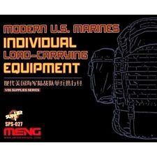 Meng Models 1:35 Modern U.S. Marines Load-Carrying Equipment Resin Model Kit