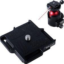 New Metal Quick Release Plate for Micro Small Camera ARCA Fit Tripod Ballhead