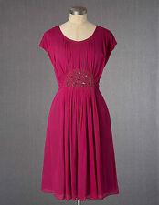 Boden Knee Length Viscose Cap Sleeve Dresses for Women