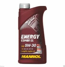 1 litros MANNOL aceite del motor Energy combi ll 5w-30 API SN CF bmw ll-04 MB 229.51 c30