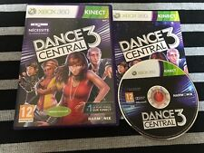 XBOX 360 : dance central 3 kinect